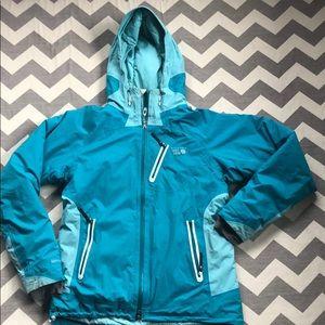 Mountain  Hardware down hybrid jacket size large